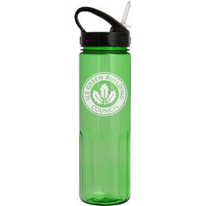 24 Oz. Prestige Bottle with Sport Sip Lid & Straw