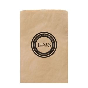 "Natural Kraft Paper Merchandise Bag (14""x3""x21"") - Flexo Ink"