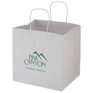 "Wide Gusset Takeout Bag (12""x10""x12"")"
