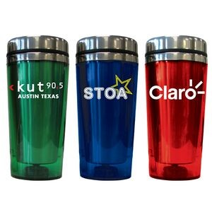 16 Oz. Translucent Double Wall Insulated Tumbler (5 Days)