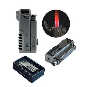 The Gotham Quad Torch 4 Flame w/ Punch Cutter in Gift Box